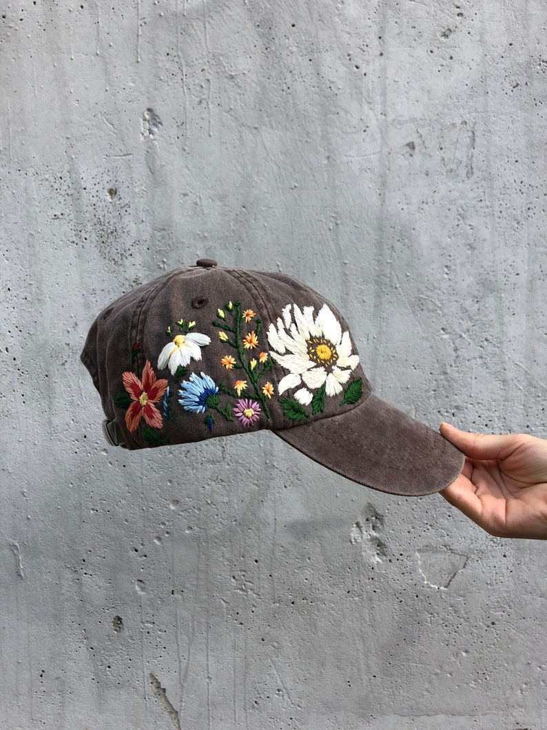 1308758f1fa Baseball cap Embroidered hat Womens hats Trucker hat for