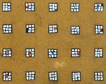 "003 ""Caffè"" glass mosaic coffee Table"