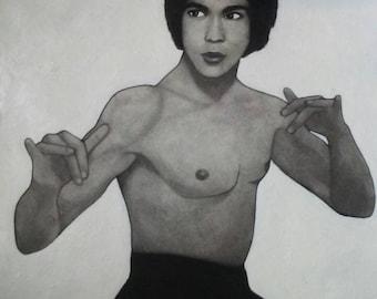 Bruce Lee Art Print