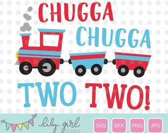 Chugga Chugga Two Two Banner-Free Shipping-Train Birthday-Second Birthday-Choo Choo Train Banner-Boys Birthday-Muted Birthday Theme