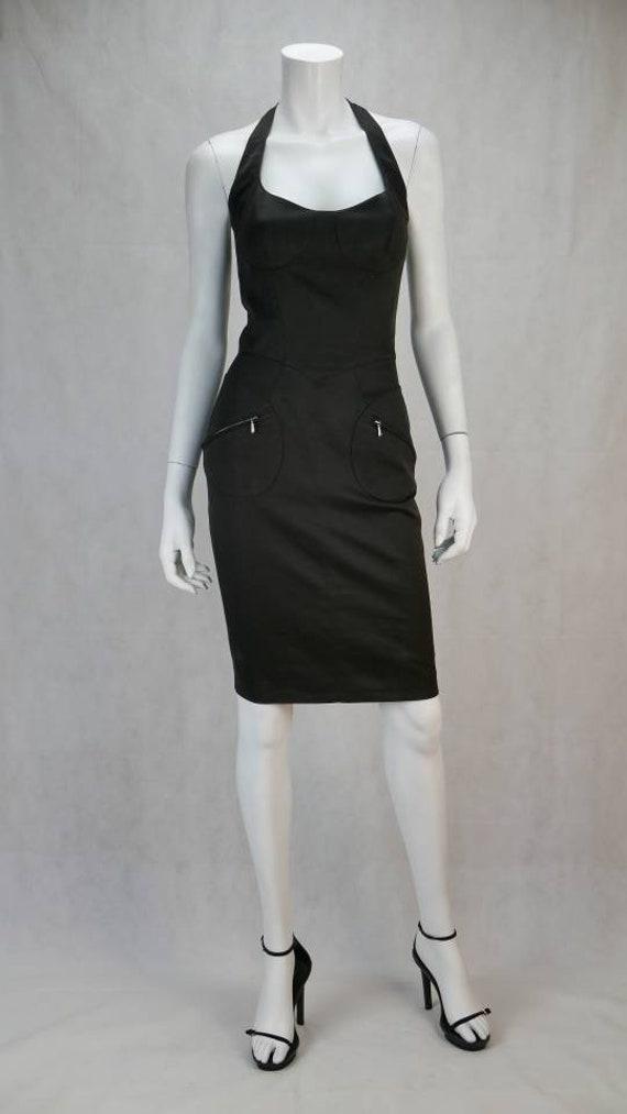 1990s Thierry Mugler dress