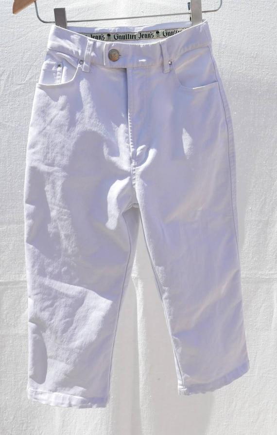 1990's Jean Paul Gaultier capri trousers