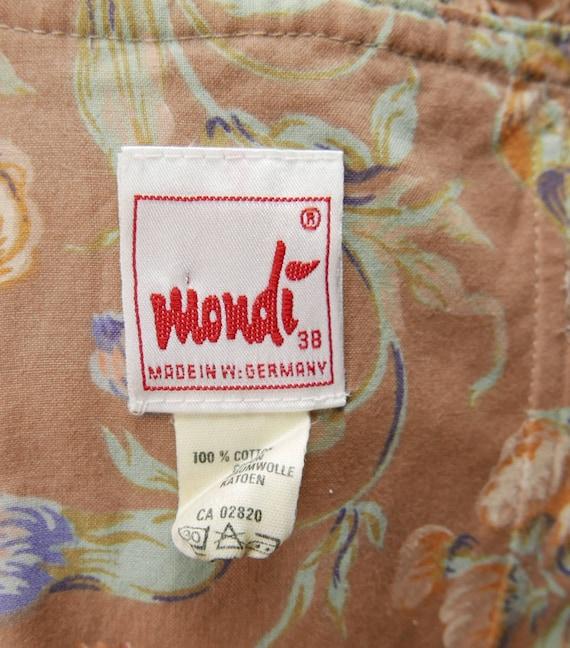1980's Floral Mondi dress - image 5