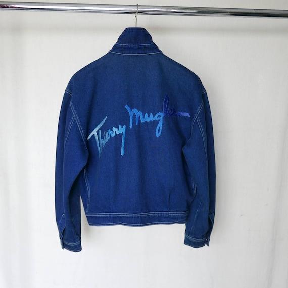 Thierry Mugler Jeans denim jacket