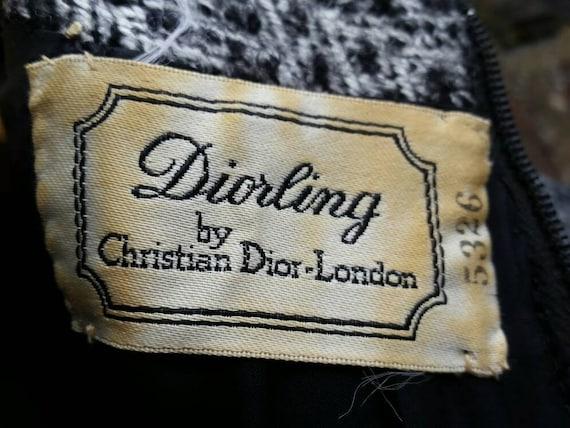 1960s Christian Dior Diorling wool dress - image 6