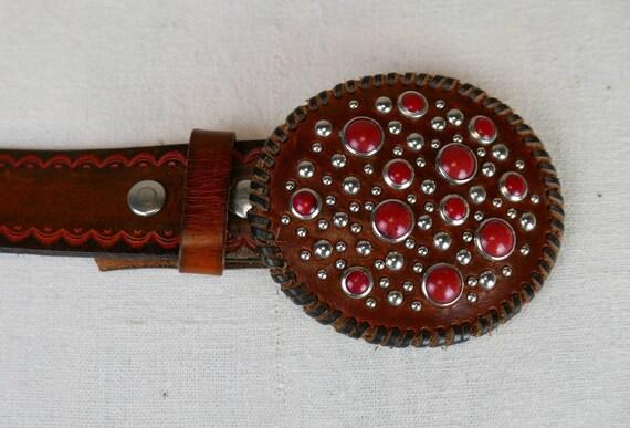 1990s Dsquared Cowboy belt