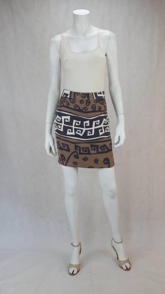 1980s Thierry Mugler Aktiv skirt