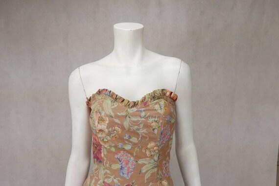 1980's Floral Mondi dress - image 4