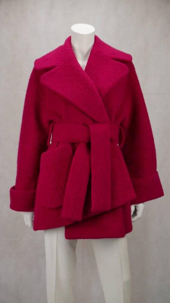 Carven asymmetrical coat