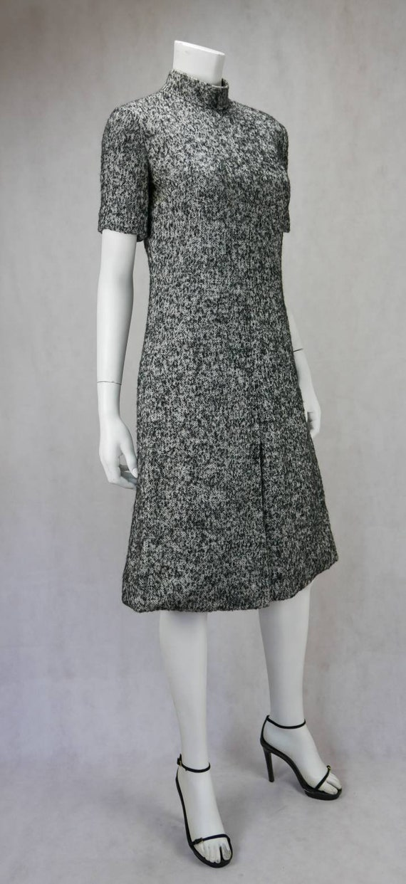 1960s Christian Dior Diorling wool dress - image 3