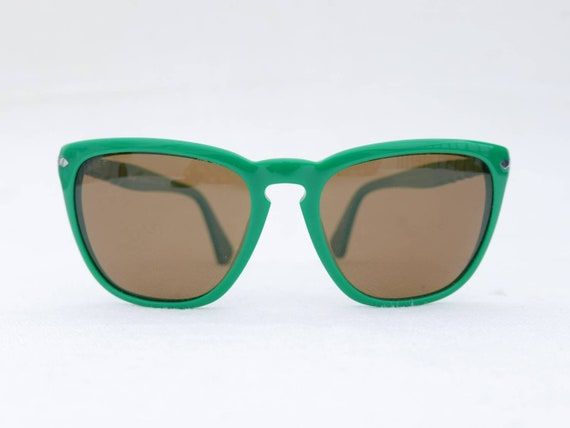 Persol green sunglasses