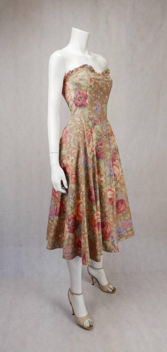 1980's Floral Mondi dress - image 2