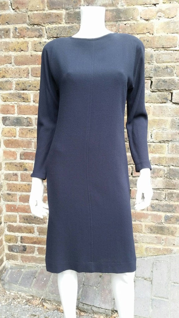 1990s Jean Muir Wool Dress