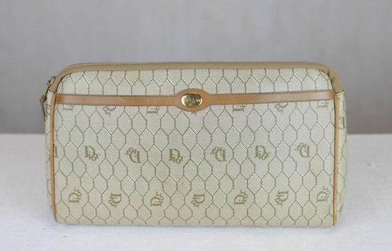 1980s Christian Dior honeycomb monogram bag