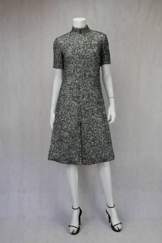 1960s Christian Dior Diorling wool dress