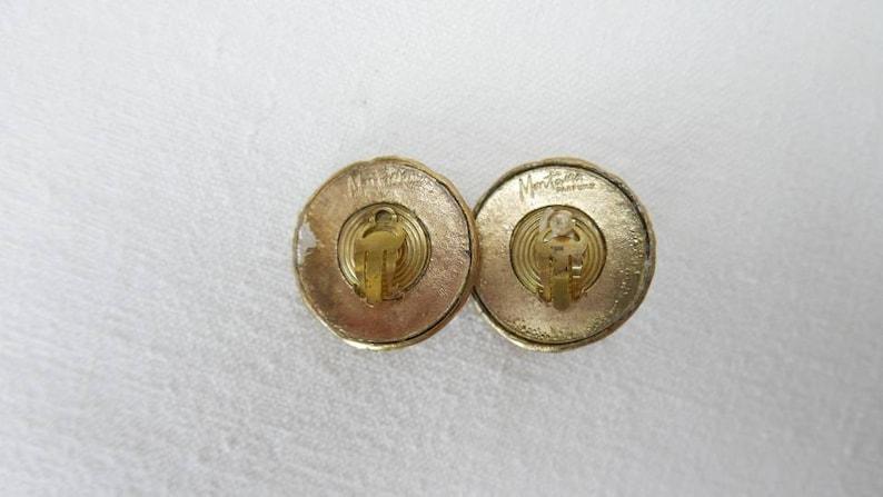 1980/'s Claude Montana clip on earrings