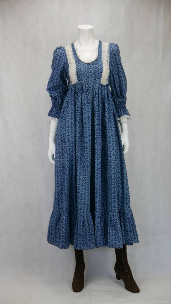 1970s Laura Ashley Prairie dress