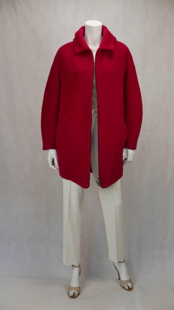 Thierry Mugler Mohair coat