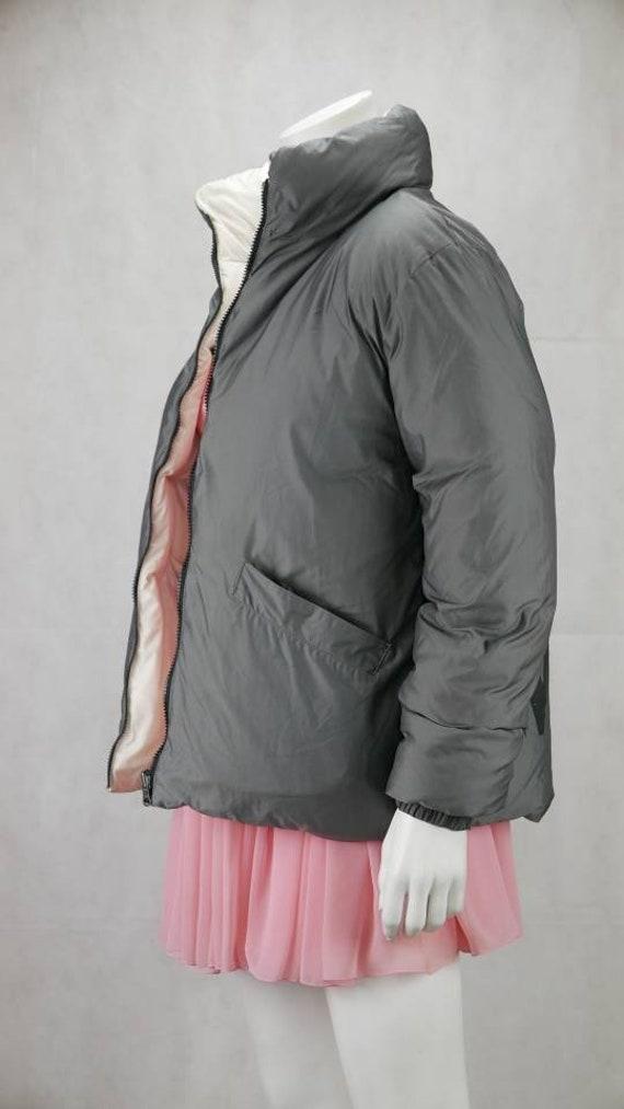 1990s Thierry mugler Trademark  down jacket