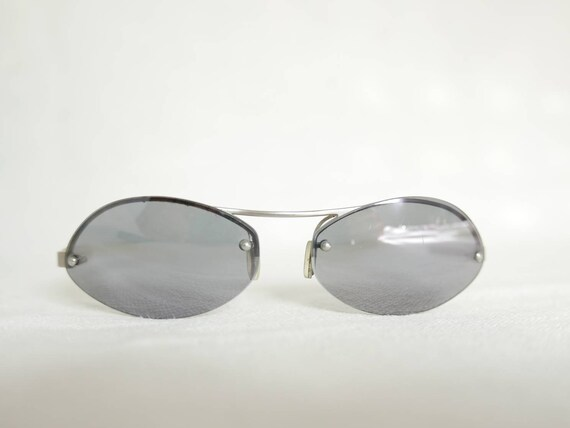 Prada rimless sunglasses