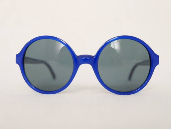 Cool blue Lolita Lempicka sunglasses