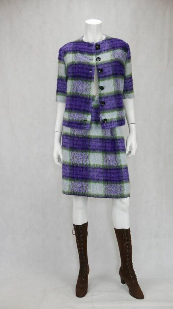 1960s Mohair skirt suit