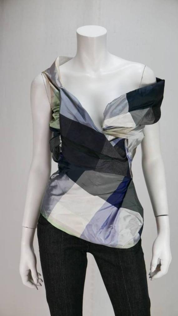 Vivienne Westwood gold label asymmetrical corset t