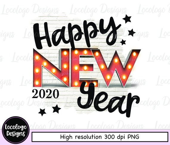Happy New Year Clipart 2020 53
