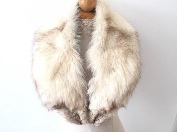 Real Fur Collar - Fox Fur Coat Collar - Luxury Fur