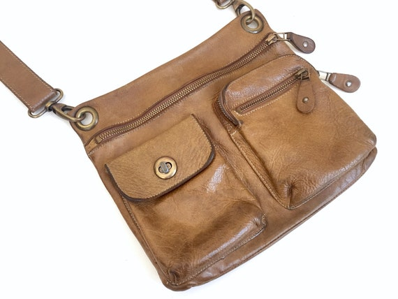 Roots Leather Bag - Roots Canada - Vintage Roots M