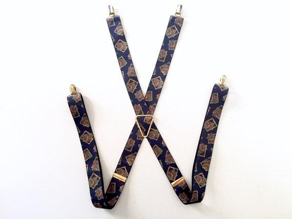 Mens Suspenders - Clip Suspenders - Button Suspend
