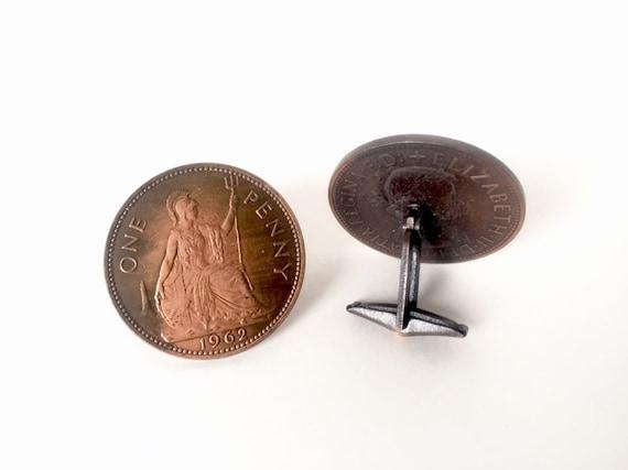 Antique Copper Coin Style Links Hieroglyphics Bracelet Animals People