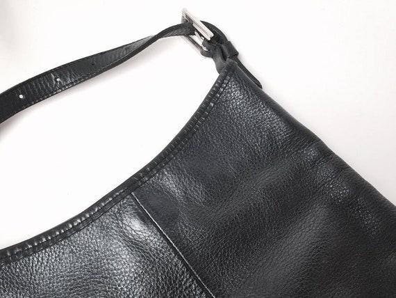 Roots Leather Purse - Roots Bag - Vintage Shoulder