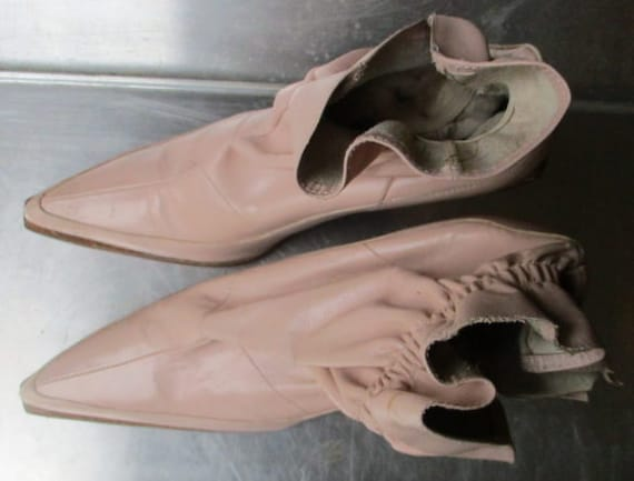 DIESEL BOOTS blush pink stiletto ankle boots - image 7