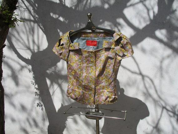 CHRISTIAN LACROIX brocade jacket and skirt design… - image 4