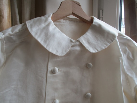 ANTIQUE SILK SHIRT - image 1