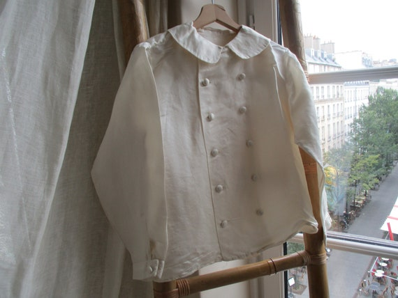 ANTIQUE SILK SHIRT - image 5