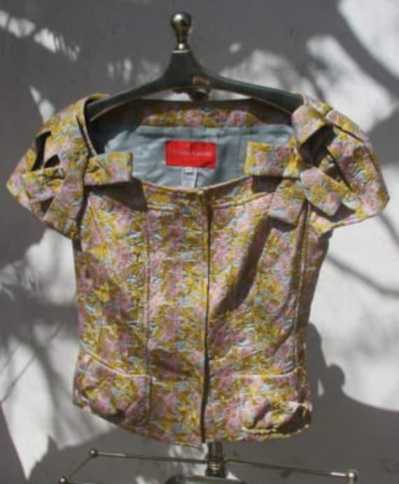 CHRISTIAN LACROIX brocade jacket and skirt designe