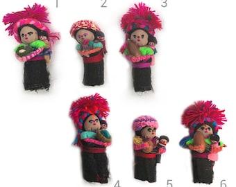 Chamula Doll Magnets - Iman de Muñeca Chamula