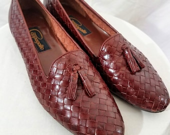 5b326b4a8 1980s Shoes // Dark Brown Leather 7.5/8N