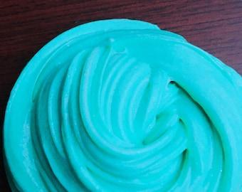 Turquoise sea slime