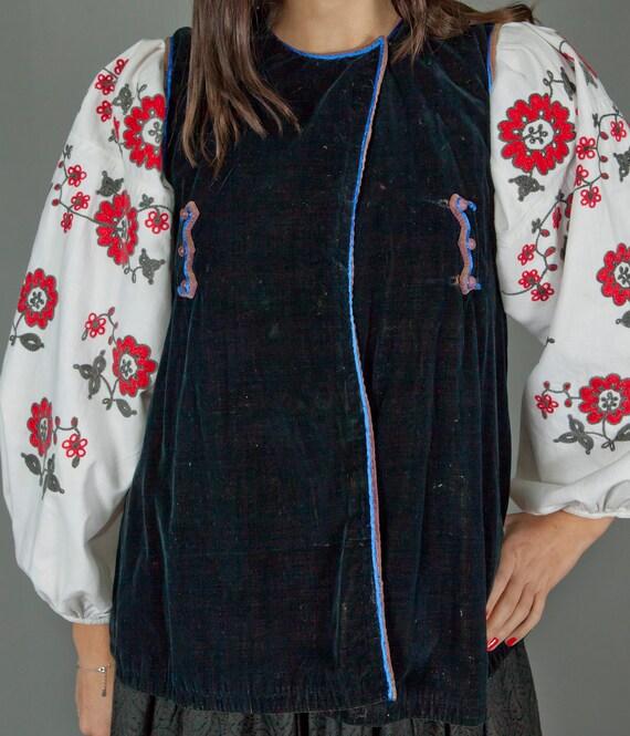 Ukrainian Vintage Korset/ Antique Ukrainian Vest/… - image 4