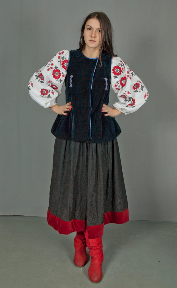Ukrainian Vintage Korset/ Antique Ukrainian Vest/… - image 2