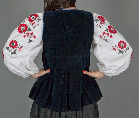 Ukrainian Vintage Korset/ Antique Ukrainian Vest/… - image 6