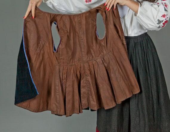 Ukrainian Vintage Korset/ Antique Ukrainian Vest/… - image 10