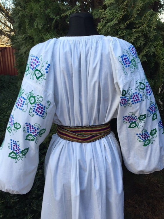 Ukrainian traditional green vyshyvanka vintage| u… - image 8