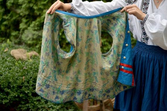 Blue/red Ukrainian Vintage Korset Antique Ukraini… - image 10