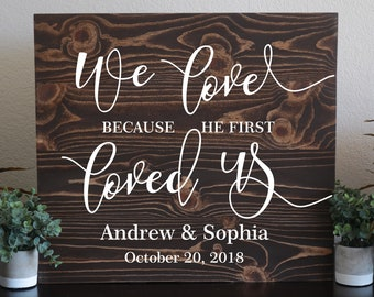 Wooden wedding signs   Etsy