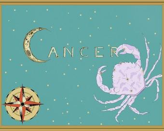 Cancer Constellation Print