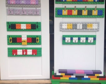 Lego Block Childrens Hooks